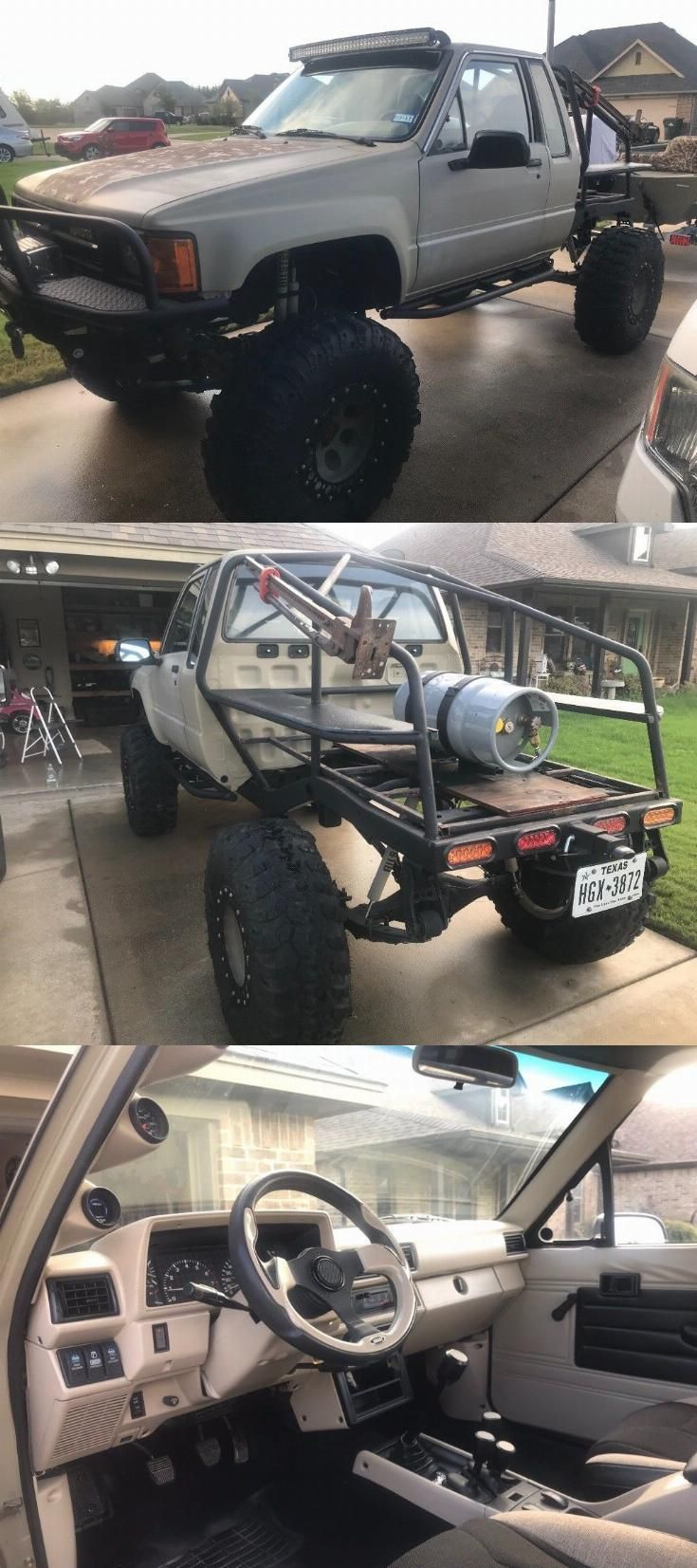 well modified 1985 toyota sr5 4 4 4x4s for sale pinterest
