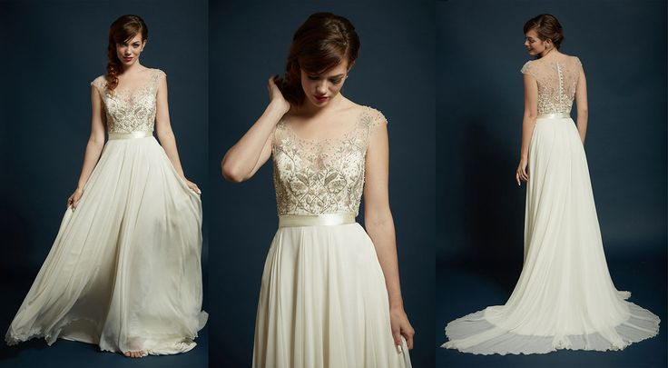 Rebecca Schoneveld Sterling Sage Gown