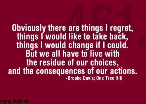 -B. Davis #OneTreeHillQuotes