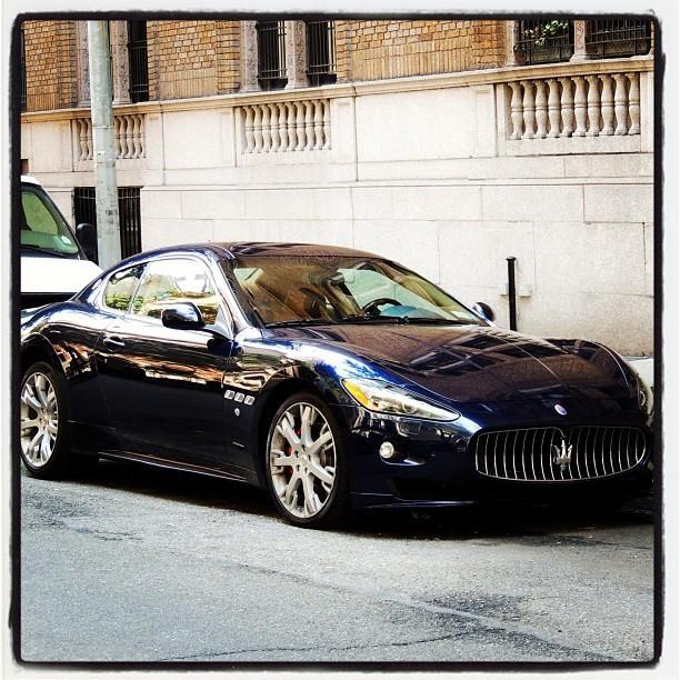 Seductive Maserati Granturismo Spotted In Manhattan Shot By