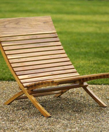 Spanish Teak Chair