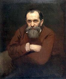 Portrait of Vasily Perov