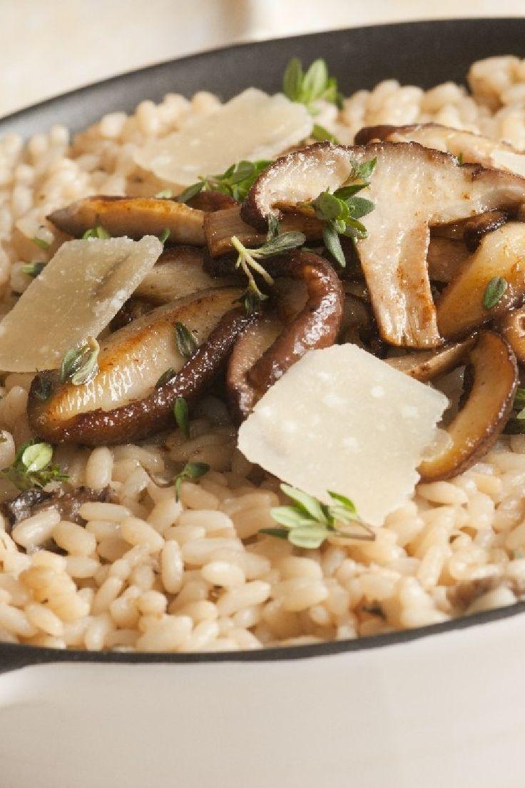 Gourmet Mushroom Risotto #Recipe. Comfort food #hgeats #loveitaly