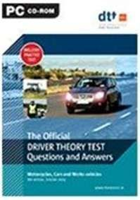 Driver Theory Test 6ed (fs) Cd Cars Motorcycles  & Work
