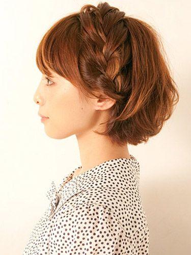 夏でも涼しげな上品編み込み|特集 雨の日ヘアアレンジ&夏の髪型 | All About MICO [ミーコ]