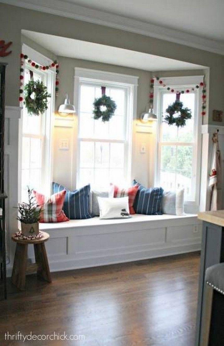 Cool Bay Window Decorating Ideas In 2020 Window Seat De