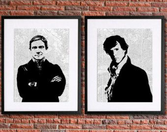 Sherlock Poster Instant Download Printable Art by pennyPRINTABLE