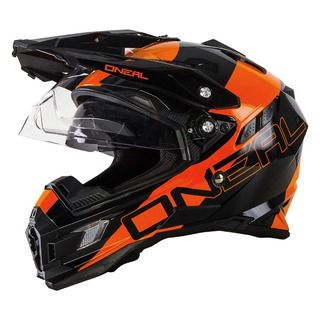 Oneal 2016 Sierra Dual Sport Edge Black/Orange Helmet - M