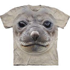 Tričko Obličej tuleně
