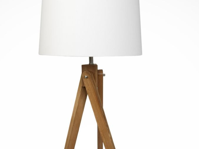 Wooden Tripod Floor Lamp with Cream Shade - Floor lamps - Lighting - Home &  garden - Sainsbury's | Lamps | Pinterest | Gardens, Shop home and Home - Wooden Tripod Floor Lamp With Cream Shade - Floor Lamps - Lighting