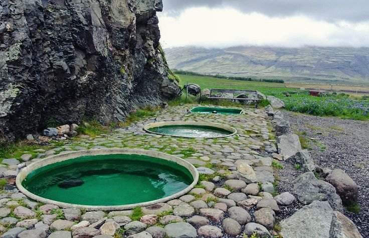 Hoffell Hot Tubs are 15kms from the town of Höfn, in ICELAND
