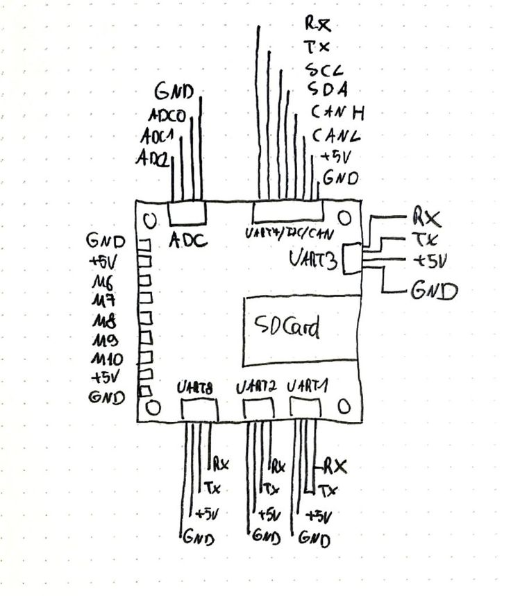 splash drone wiring diagram