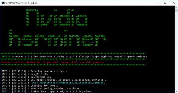 New Faster hsrminer Neoscrypt Nvidia GPU Miner  If you have GPU mining rigs using more recent Nvidia GPUs and are interested in mining NeoScrypt based crypto coins then you might want to check out the new hsrminer for Neoscrypt. This is a new closed source miner being developed by palgin & alexkap that is currently available as a Windows-only binary with 1% developer fee built-in. Currently the hsminer software is under development with a version available for Neoscrypt as well as for HSR…