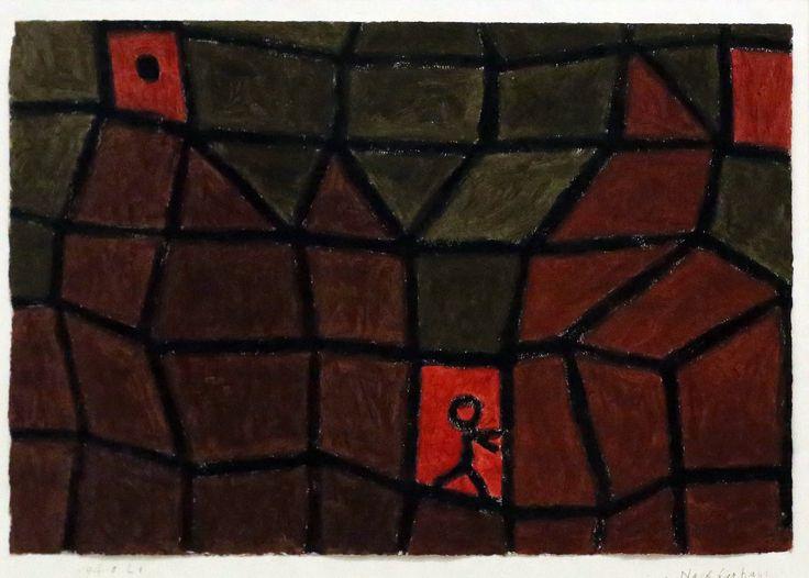 Paul Klee 'Going next door' 1938