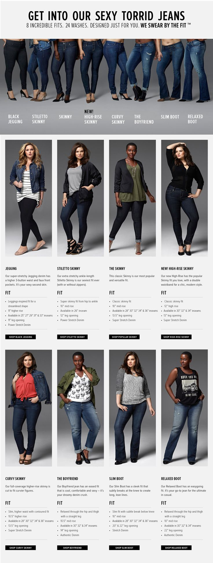 Plus Size Jeans & Denim for Women, Sexy & Trendy | Torrid
