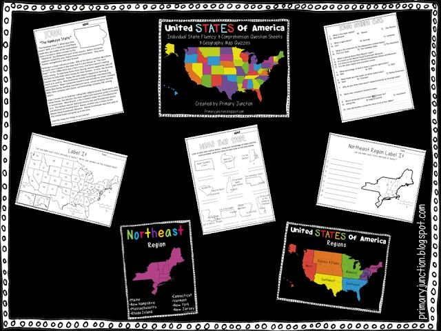 Usa Map Reading Quiz Cornelsen