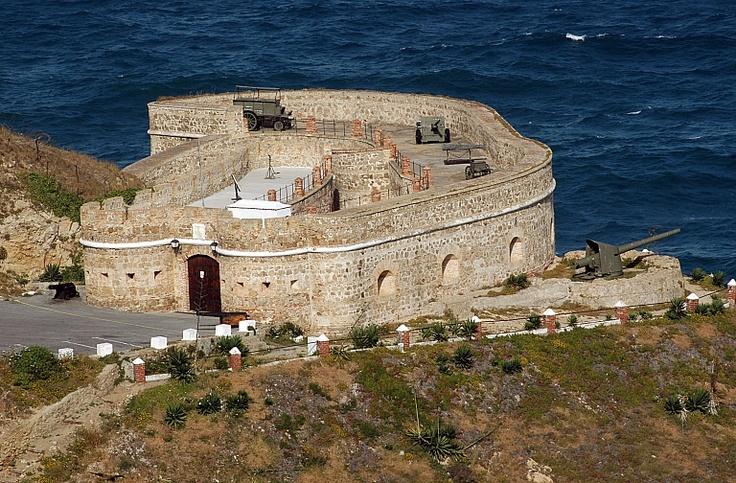 Castillo de El Desnarigado. Ceuta, España.
