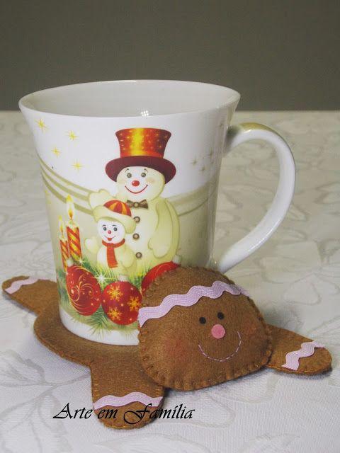 cookie mug mat ginger