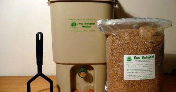 Kompostieren direkt in der Küche mit Bokashi-Eimer!