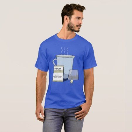Tea, a Computer Nerd Pun T-Shirt - tap, personalize, buy right now!