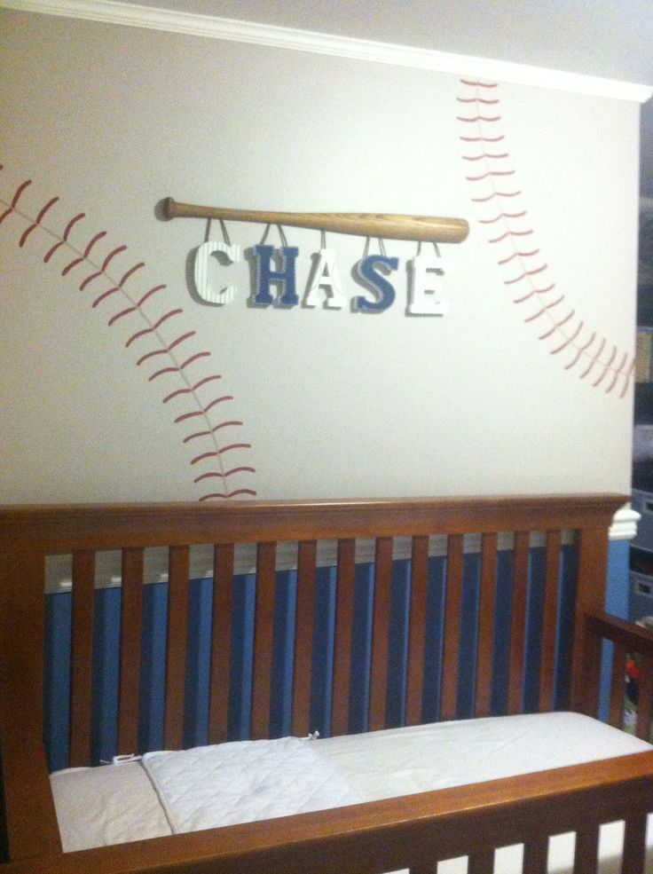 Baseball Lettersperfect For A Little Boy