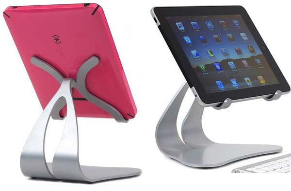 Stabile iPad Stand from Thought Out. One of the best iPad stands I've seen so far