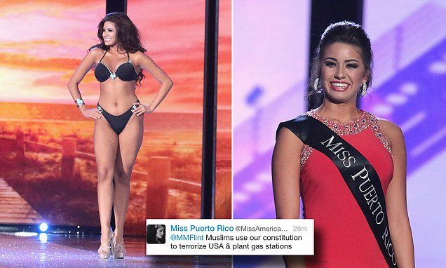 Miss Puerto Rico indefinitely suspended after anti-Muslim tirade
