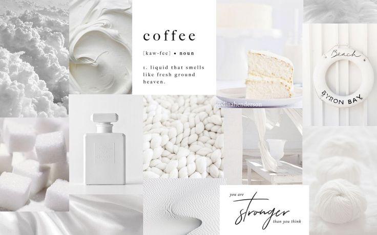 white aesthetic desktop wallpaper desktop