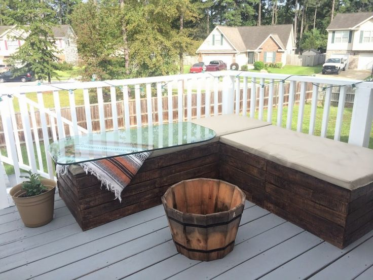 25 Best Ideas About Pallet Sectional On Pinterest