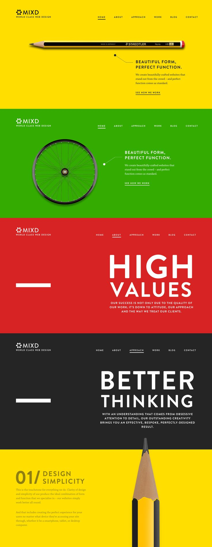 MIxd, 29 July 2013. http://www.awwwards.com/web-design-awards/mixd   #DesignAgencies #web #design