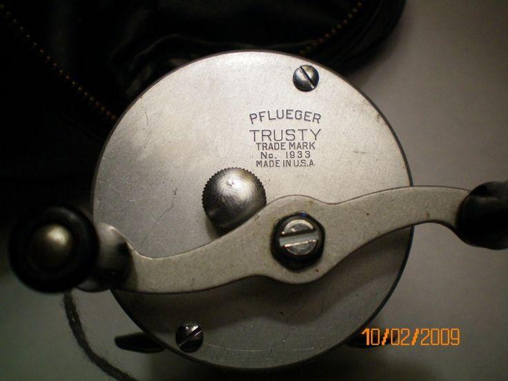vintage baitcasting reels | Vintage Pflueger Trusty ...