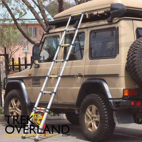 Front Runner Telescopic Roof Rack Access Ladder   LADD008