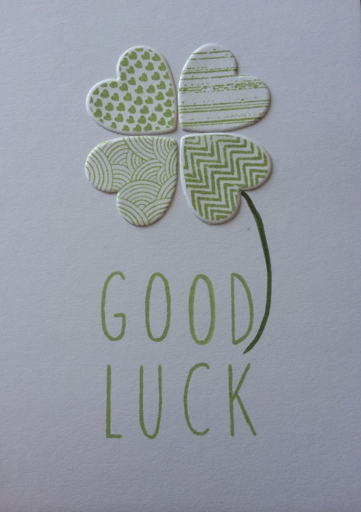 25 Best Ideas about Good Luck Cards – Good Luck Cards to Print