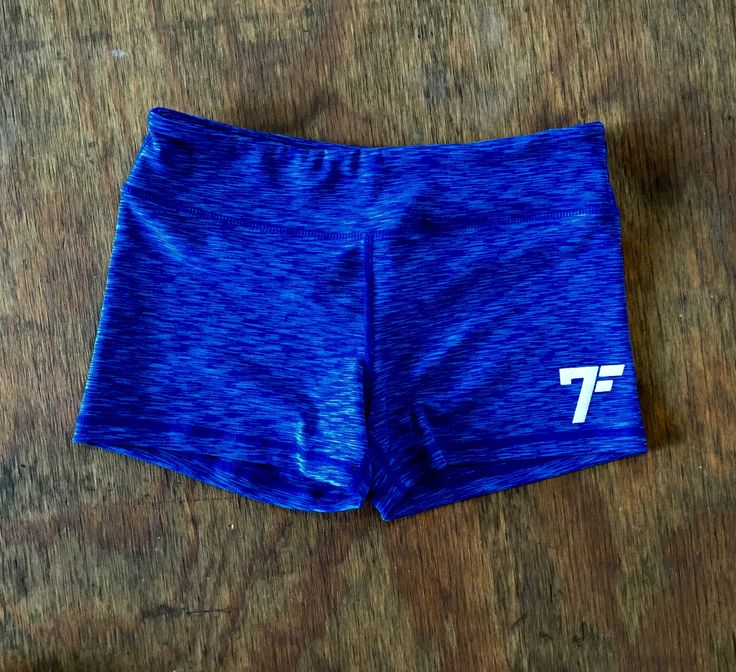 Women's 7Five multi-color tights shorts - DARK BLUE