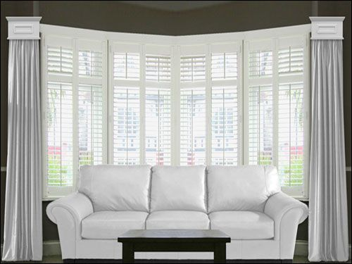 Bay window treatments ideas window treatment ideas whispar for Blinds for bow windows ideas