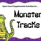 Monster Tracks: 2nd Grade Open Court Supplemental Activities $3.00