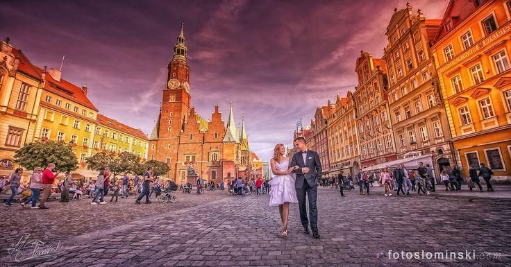 #Wrocław Moje Miastowww.fotoslominski.pl #ZdjęciaSłomińskiego - Miejsce na Twoją sesję ślubną w plenerze. #Fotograf Wrocław SŁOMIŃSKI.