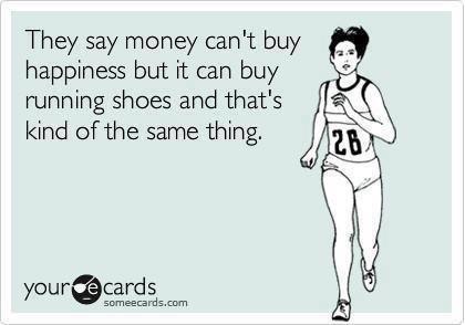 The joy of new running shoes! #running #juicing #mentaljuice RunningOnJuice.com