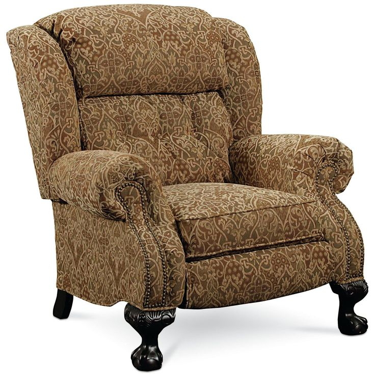 Hi Leg Recliners Magnate Traditional High Leg Recliner By