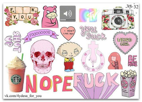Pink color instagram  sticker sheet| Planner diary Stickers | Coffee starbucks | Hearts and princess  | Stewie | Kawaii cute | CHANEL 5 | by topstickerdesigns on Etsy
