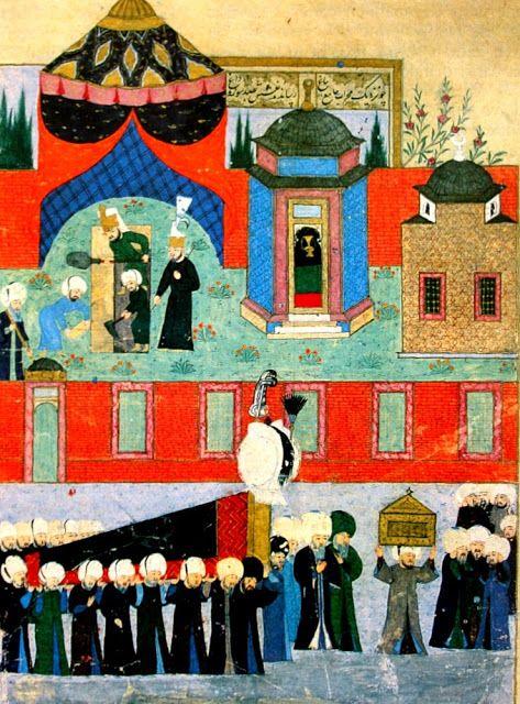 Kanuni Sultan Süleyman'ın cenaze alayı, Nakkaş Osman...