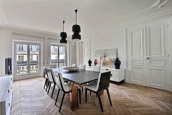 Louvre Palais Royal Iii White Apartment Modern Chic Decor Luxury Apartments