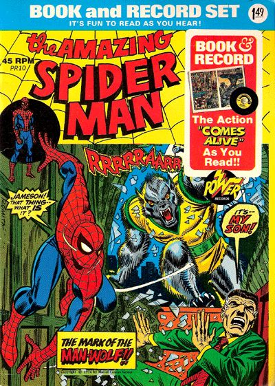 Spider-Man: The Mark of the Man-Wolf Power Record