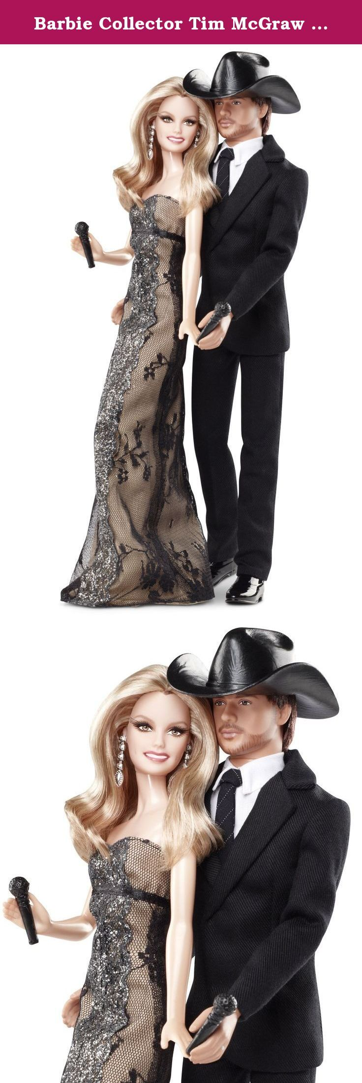 Barbie Collector Tim McGraw And Faith Hill Doll Gift Set. From the Manufacturer Barbie Collector Tim McGraw and Faith Hill Doll Gift Set: Celebrating country music's ultimate power couple, Tim McGraw and Faith Hill. This chart topping celebrity couple continues to have success with #1 hits and setting tour records with the highest-grossing country tour of all time. Tim is dressed in a black suit with his classic black Stetson hat. Faith looks glamorous in a dress made for the red carpet…