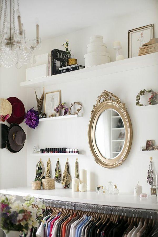 Die 25+ Besten Ideen Zu Kleiderschrank Auf Pinterest | Schränke ... Schlafzimmer Ohne Schrank Gestalten