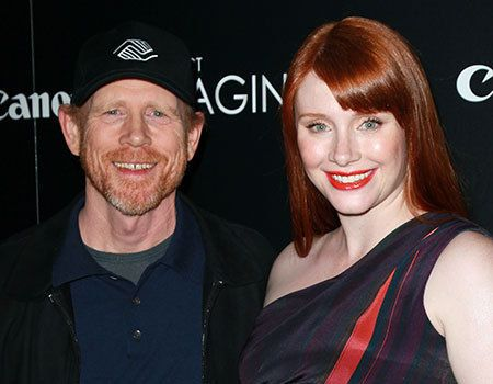 Ron Howard & daughter Bryce Dallas Howard