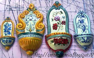 #Bomboniere di #ceramica dipinta a mano http://ceramicamia.blogspot.it/p/bomboniere.html