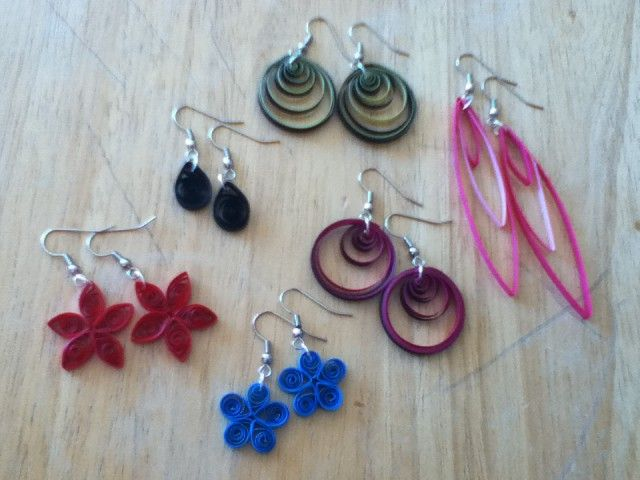 how to make quilling earrings for beginners yrchoil