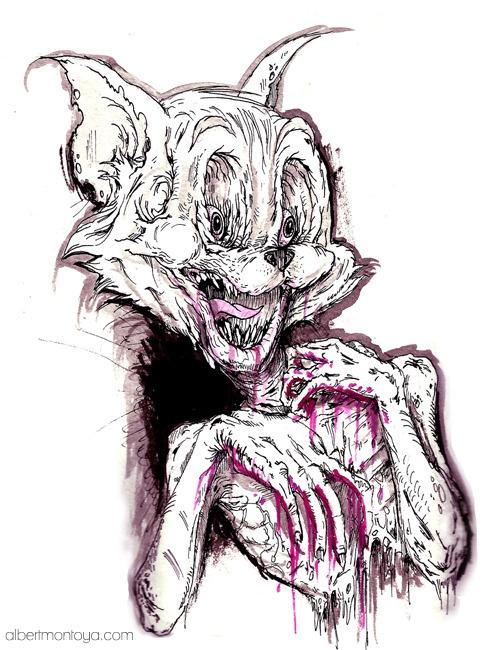Zombie Tom by Albert Montoya.