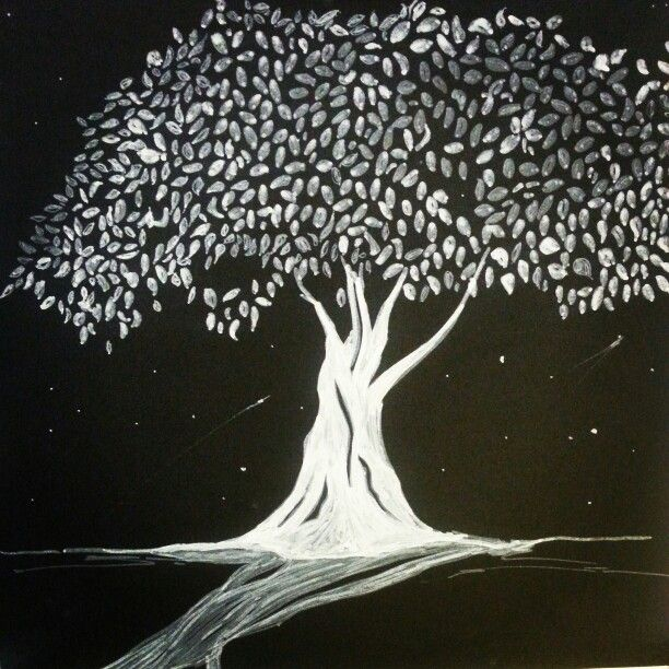 Drawing of a bodhi tree... an original ordinary artist artwork.   www.originalordinary.co  #tree #bodhi #art #drawing #canvasbags #original